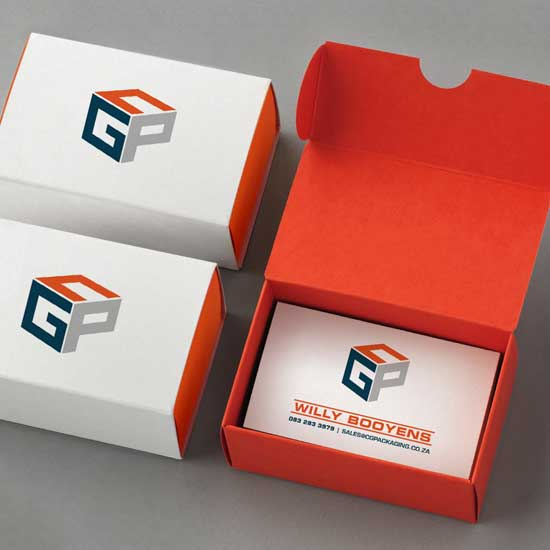Design and print of CGP's business cards