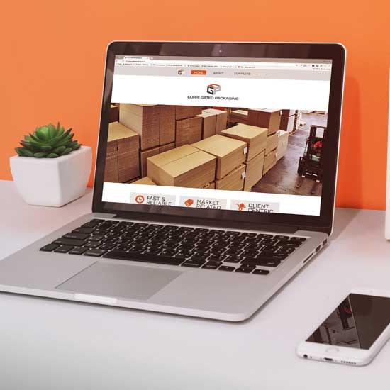 Website design for CGP